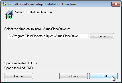 what is virtual clone drive