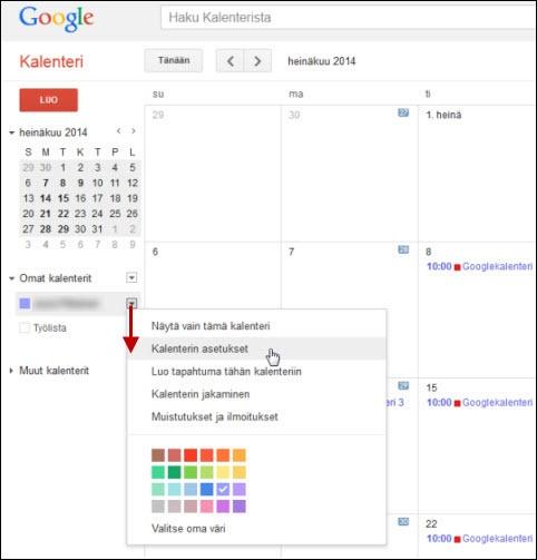 Synchronising Google calendar entries to the Office 365 calendar