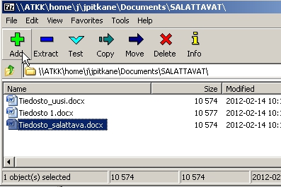 Encryption of confidential attachments | Helpdesk