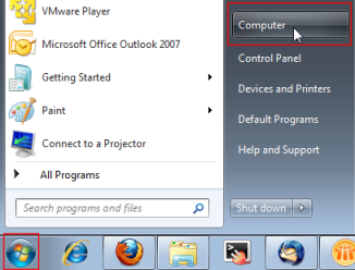 how to find what program is using external hard drive