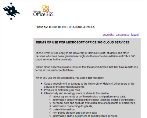 Office 365: Ordering a mailbox | Helpdesk