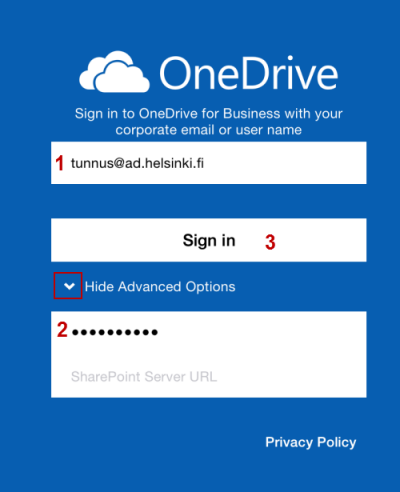 Office 365: OneDrive for Business | Helpdesk