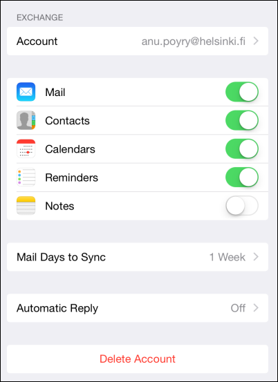how to add office 365 email to iphone ios 10