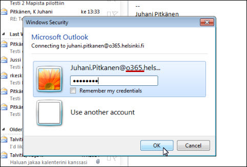 Removing an account in Outlook | Helpdesk