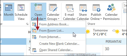 Outlook 2013: Kalender | Helpdesk