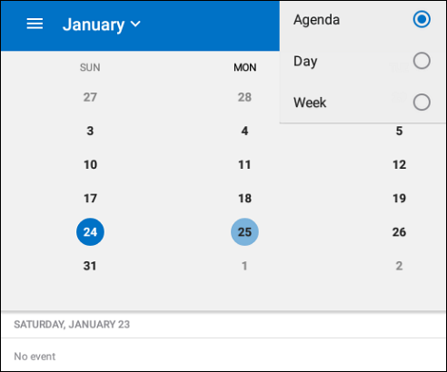 Outlook in mobile devices | Helpdesk