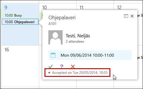OWA (Outlook web App): Calendar   Helpdesk
