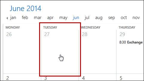 OWA (Outlook web App): Calendar | Helpdesk