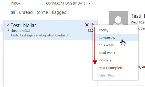 Outlook Web App: Tasks | Helpdesk