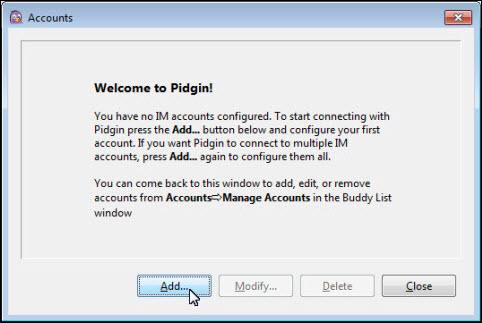 Instant message software Pidgin | Helpdesk