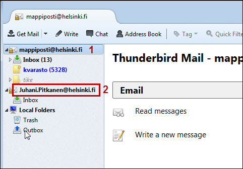 Reading Office 365 e-mail in Thunderbird | Helpdesk